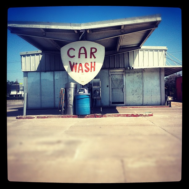 Old Car Wash Next To The Coliseum Evansville Indiana