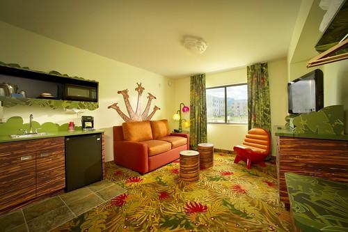 Buena Vista Suites Bvs Standard Double Queen Living Room X