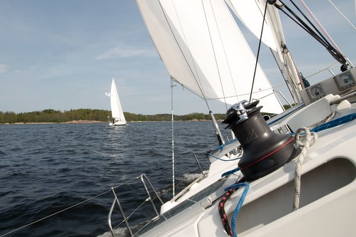 Sailing around Vaxholm | by Holger Motzkau