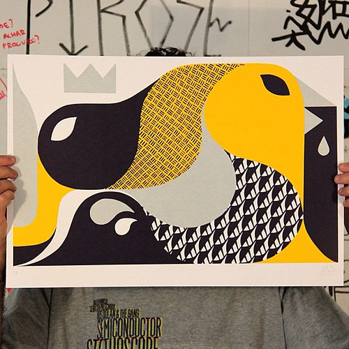 new screenprint | by Lelo**