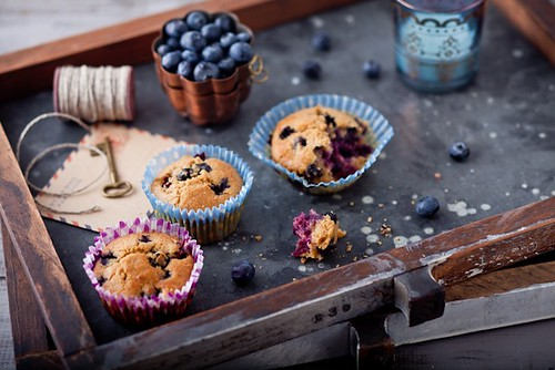 Blueberry Key Lime Tea Cakes | Recipe and story on ...