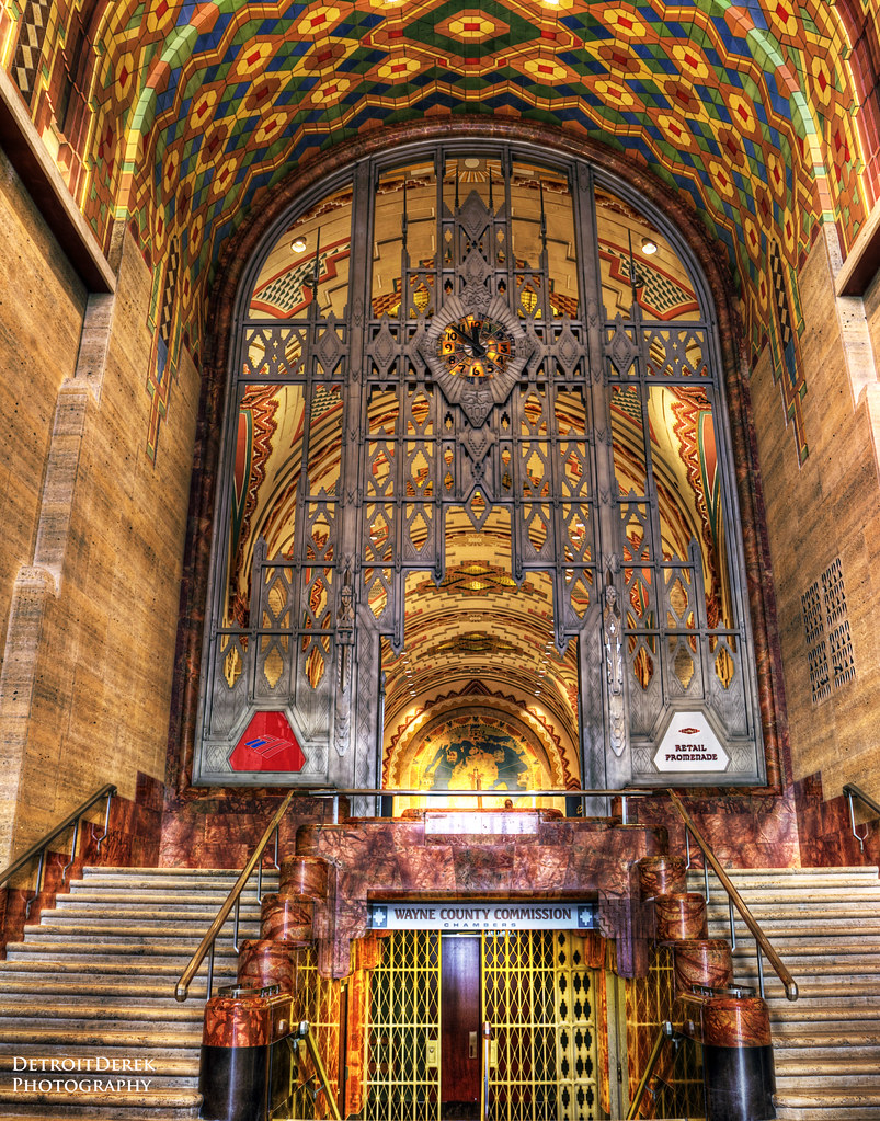 A View Inside The Guardian Building In Detroit Truly One