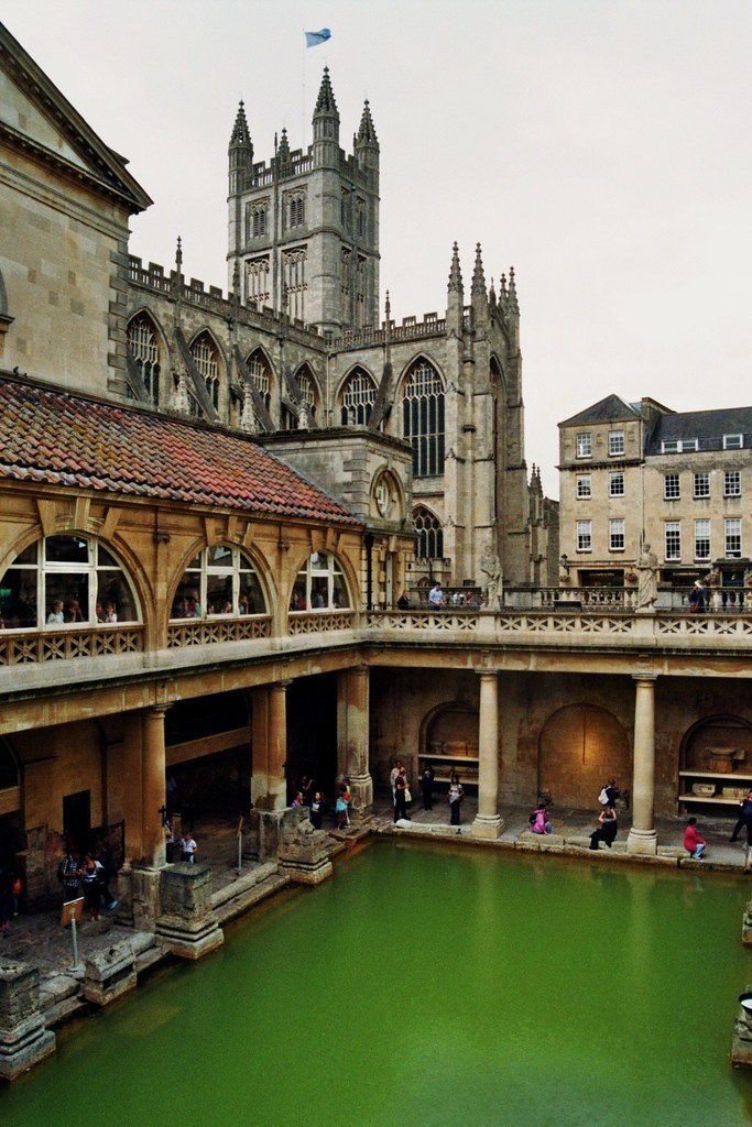 les thermes romains bath somerset angleterre the roma flickr. Black Bedroom Furniture Sets. Home Design Ideas