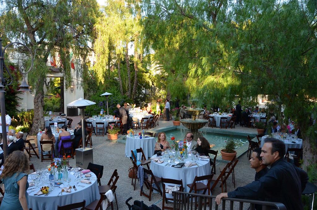 Dinner In The Garden Los Angeles River Center Gardens L Flickr