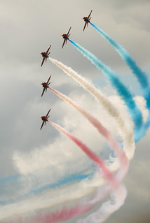 Red Arrows | by patchworkbunny