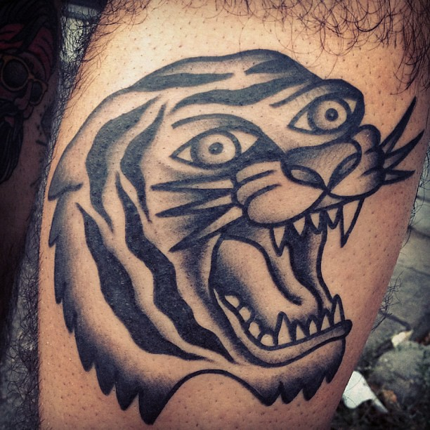 #tattoo #tiger#head#classic#oldschool#traditional #webstag ...