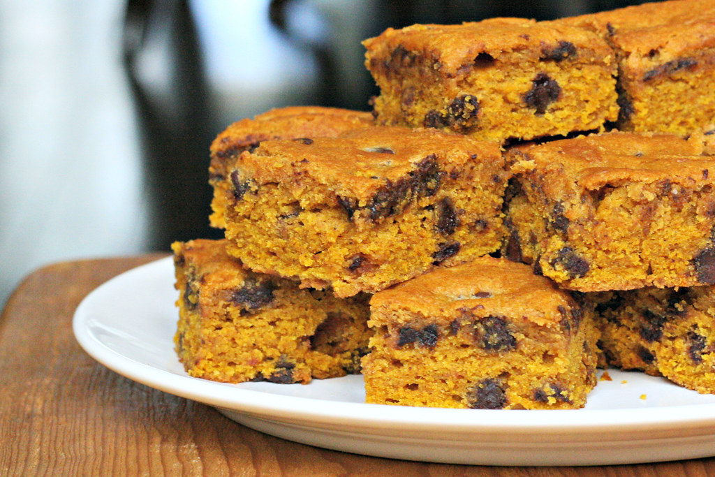 Pumpkin Bars White Cake Mix
