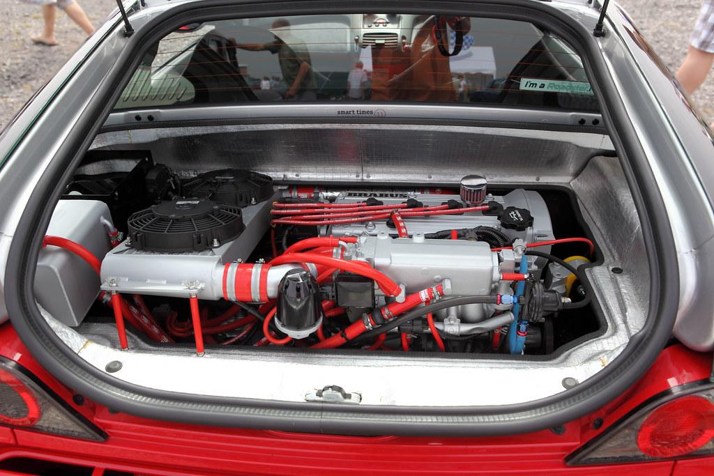 Smart Brabus Roadster Coupe Engine Bay Detail C2004 Flickr
