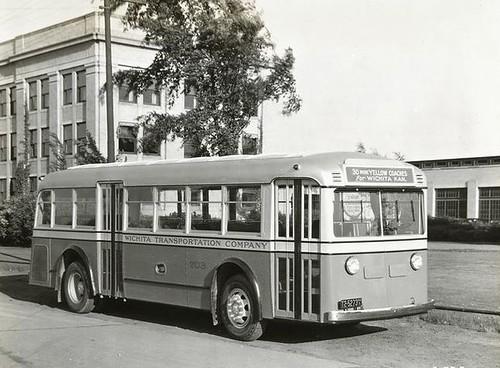 Wichita Transportation Company No 703 1935 Yellow