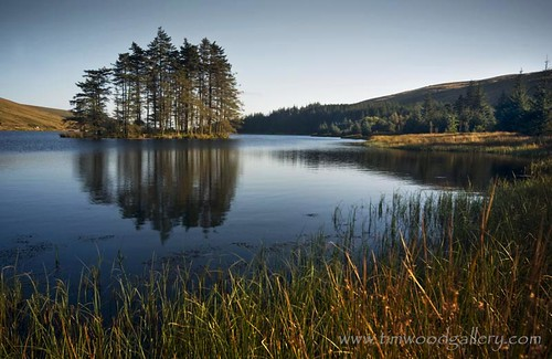 BEACONS RESERVOIR, ISLAND REFLECTIONS. | by IMAGES OF WALES.... (TIMWOOD)
