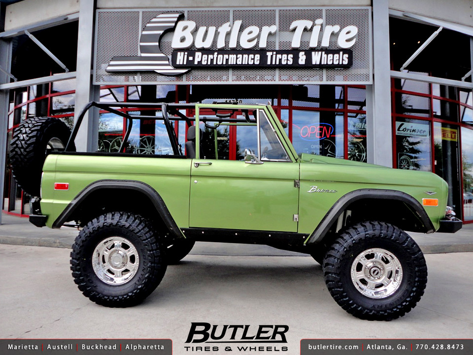 Ford Bronco Tires >> 1973 Ford Bronco with 16in Pro Comp 8089 Wheels | Additional… | Flickr