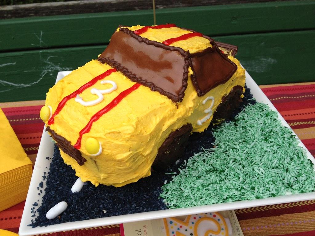 Race Car Cake Ideas