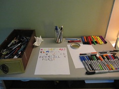 pen drawer overhaul - getting started