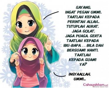 Gambar Kartun Muslimah Cantik 1 Rahmi Safitri Flickr Foto