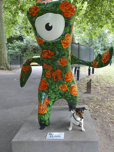 London Olympic Games mascot - Wenlock and Mandeville | by anthonyfalla