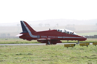 RAF Leuchars Airshow 2012 - The Red Arrows land | by Scotsman_in_Hawaii
