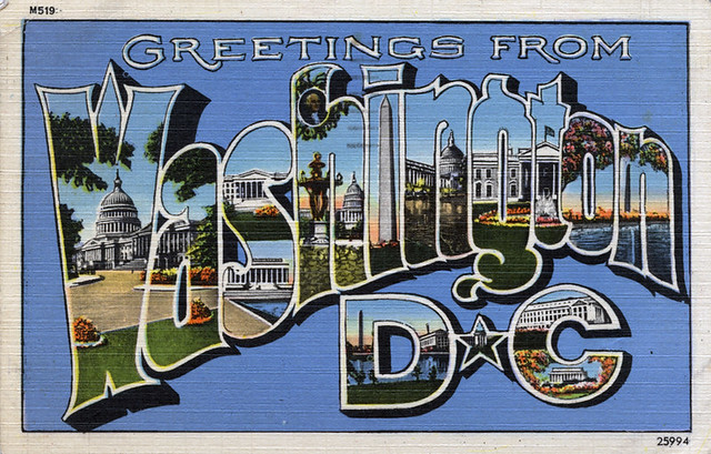 Greetings From Washington Dc Large Letter Postcard Flickr Photo Sharing