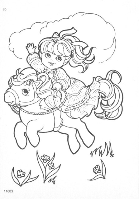 Vintage My Little Pony Coloring Pages : My little pony g coloring pages explore natasja s