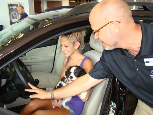 Subaru Of Keene >> Erin and Daisy | Subaru XV Crosstrek on display at Subaru of… | Flickr