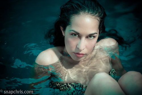 Monica Hix : playing in the water | by tibchris