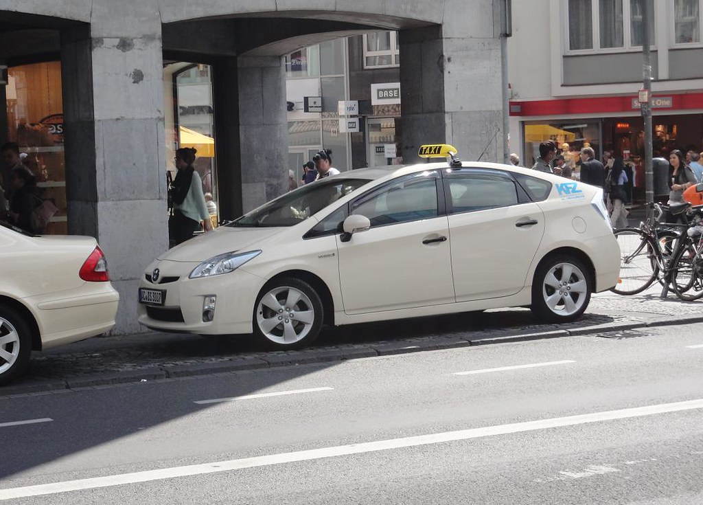 Toyota Prius Mk3 Taxi In Aachen D Aachen Germany