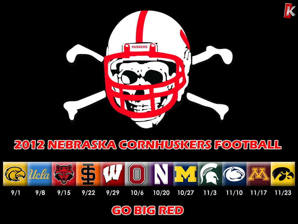 2012 nebraska football schedule wallpaper by b r knight - Nebraska football wallpaper ...