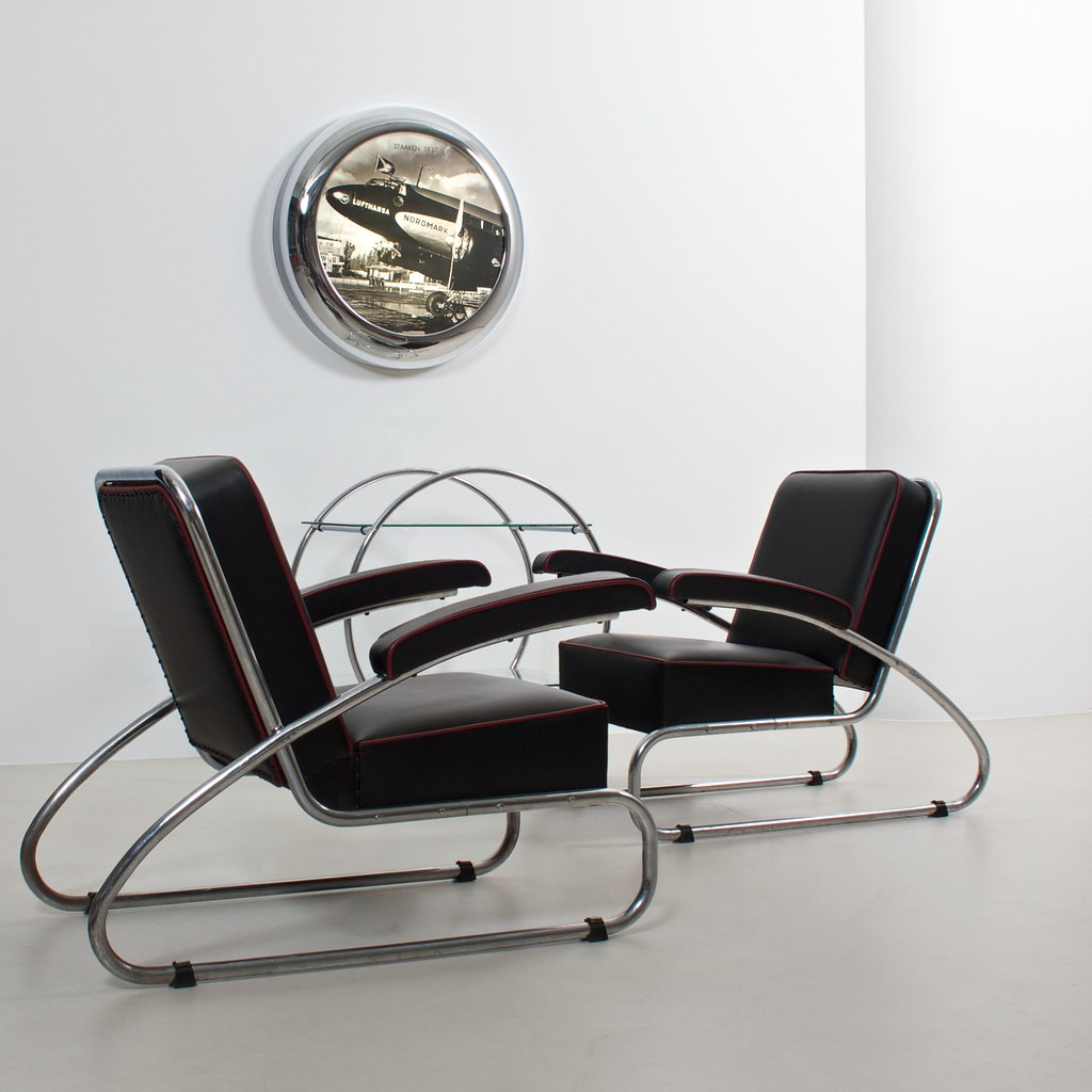 german streamline modernism interior design wall light ref flickr. Black Bedroom Furniture Sets. Home Design Ideas