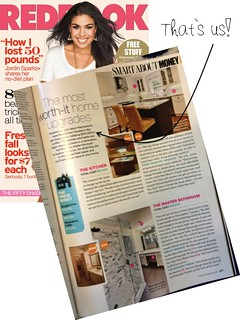 Feature in Redbook Magazine - September 2012 | by It's Great To Be Home