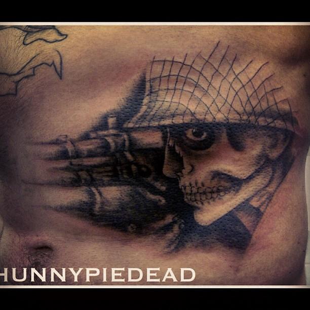Sniper Skull Tattoo Skull Tattoo Sniper