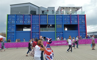 BBC tv studios, Olympic Park, London 2012 | by sbally1
