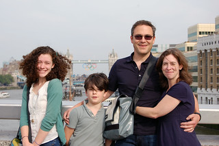 London 2012 family with Tower Bridge | by Derringdos
