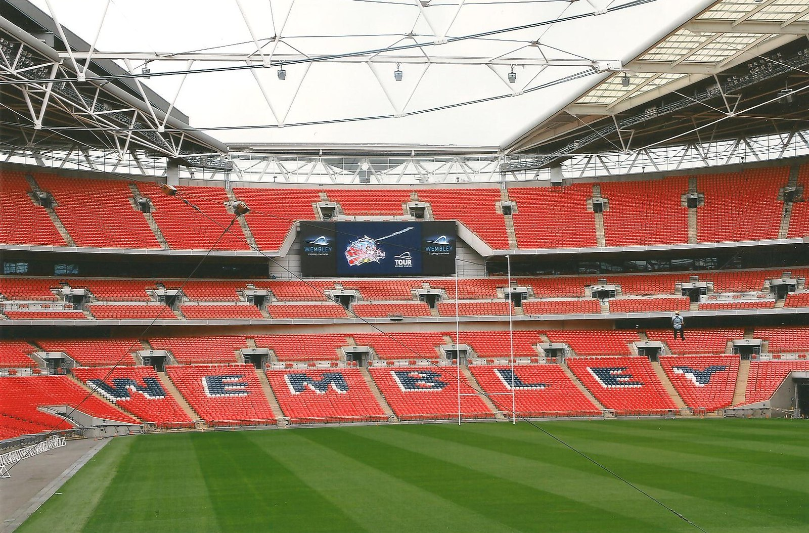 Wembley Stadium Zipwire