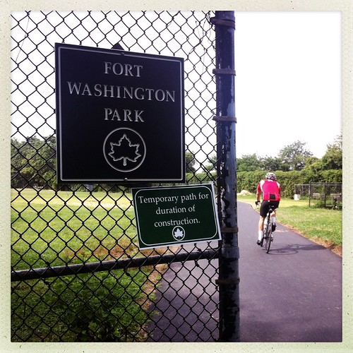 Fort Washington Park Greenway Detour | by c34