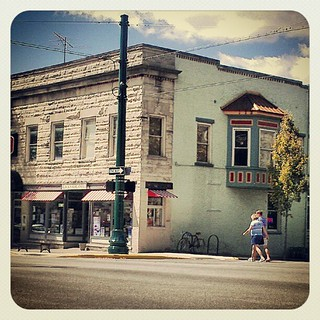 7th & Walnut Streets #downtown #bloomington #indiana | by Visit Btown