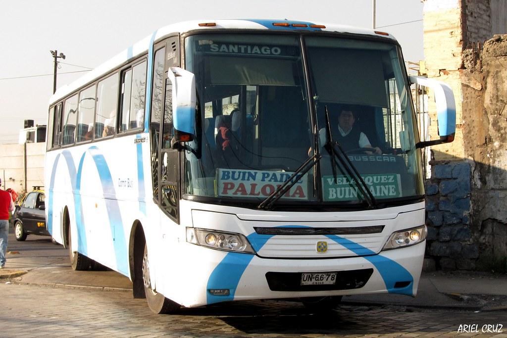 Buses Paine Regi 243 N Metropolitana Busscar El Buss 340