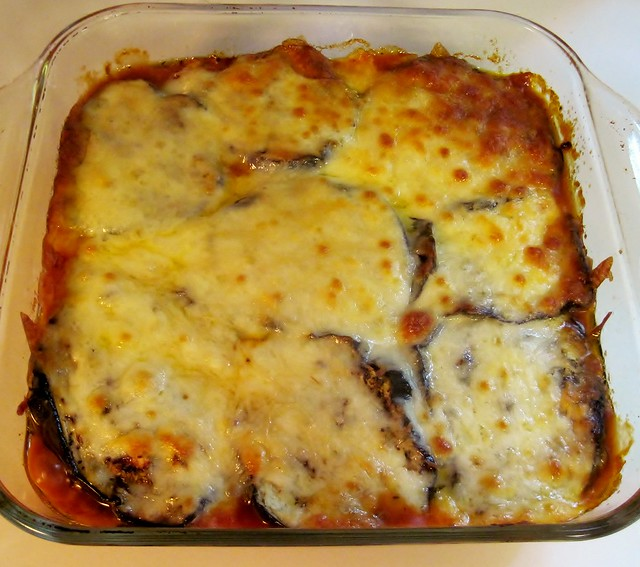 Eggplant parmesan made with grilled eggplant | Flickr - Photo Sharing!