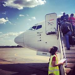 Bording to Maputo #LAM