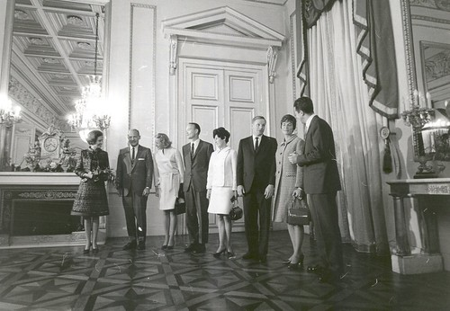 Apollo 11 Astronauts Welcomed to Royal Palace in Brussels, Belgium | by NASA on The Commons