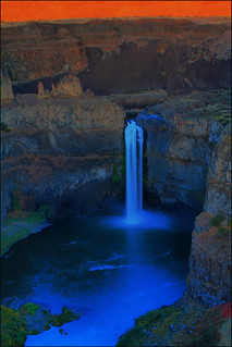 Palouse Waterfall State Park Sunset, Washington State | by Don Briggs