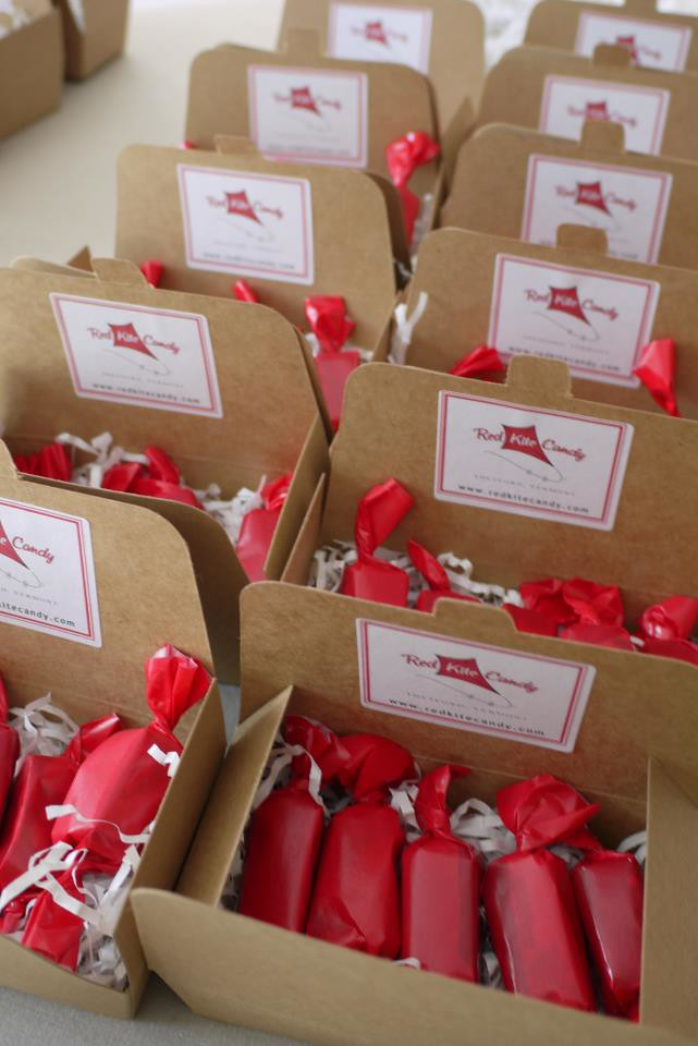 Red Kite Candy Wedding Favors Almost Ready One Caramel Of Flickr