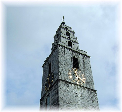 St Anne's Church Cork, The Face of The Four Liars! | by B..........