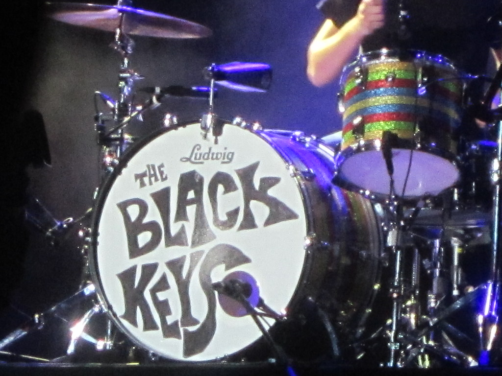 Black Keys Drums of The Black Keys' Patrick