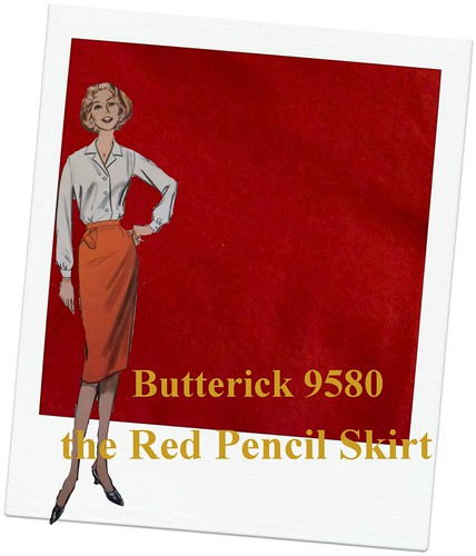 Red Pencil Skirt | by lladybird