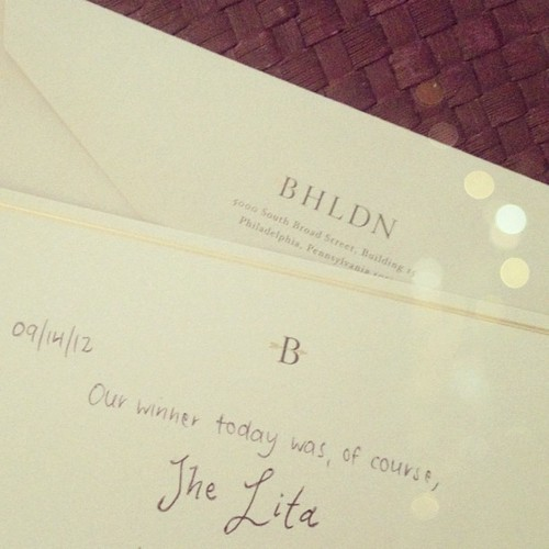 Such a sweet touch from BHLDN | by Célèste of Fashion is Evolution