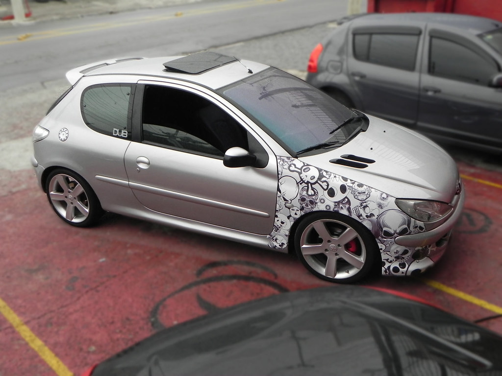 Peugeot 206 Sticker Bomb Iii Takamine Acessorios Flickr