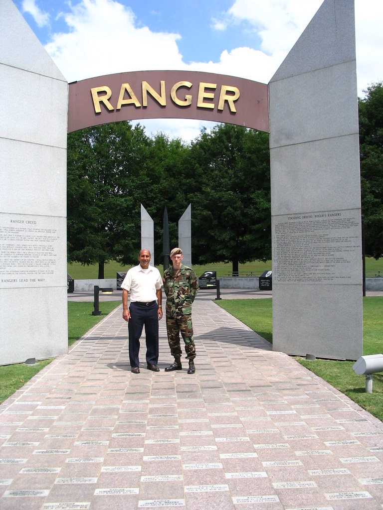 The former U.S. Army Ranger swung for a base hit and earned himself a home run..