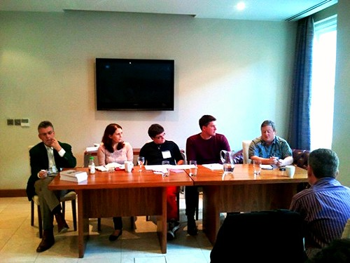 Panel discussion at Write on Finance Blog Up Leeds | by Karen V Bryan