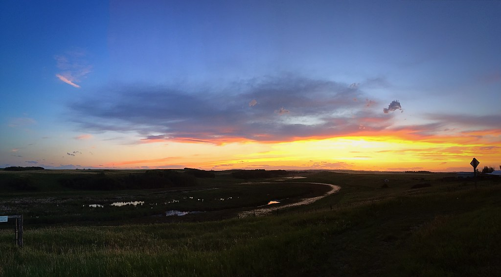 Sunset Coulee