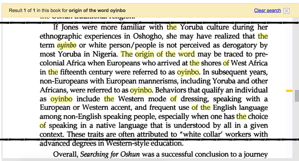 Why Do Igbo People Claim Yoruba Words To Be Theirs    Culture         Nairaland I can cite several examples online     dating as far back as various ethnographic surveys of Africa