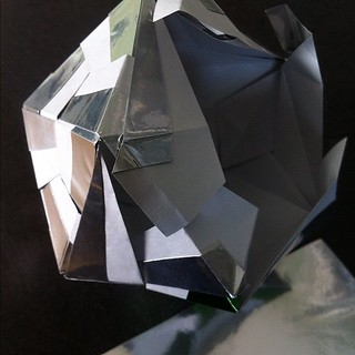 New #origami piece in the works | by mattersofgrey